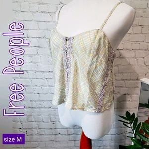 Free People Intimately Crop Cami/Top  Lilac size M